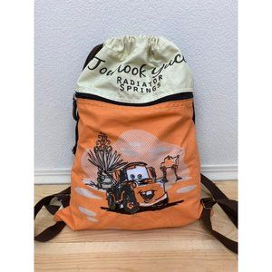 Disney Parks DCA CarsLand Cinch Backpack